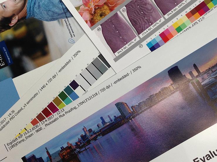 ISO 12647-2 kleurproeven